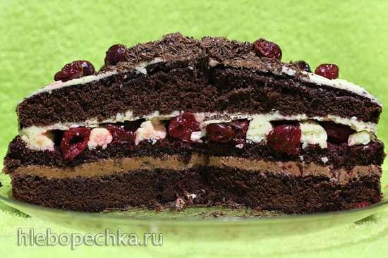 """Торт """"Шварцвальдский вишнёвый"""", """"Черный лес"""" в Кухонной машине Kenwood 086/096"""