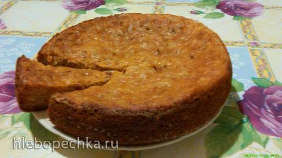 Тыквенный пирог-запеканка