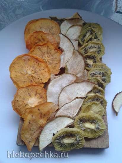 Фруктовые чипсы сушеные