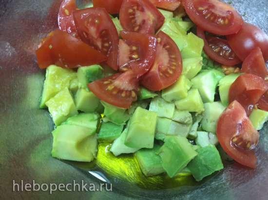 Тальятелле с авокадо