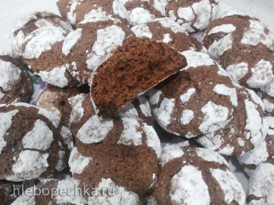 Печенье шоколадно-овсяное