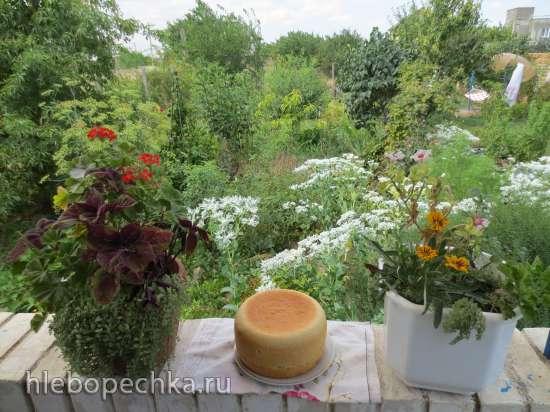 Белый  деревенский хлеб в мультиварке Polaris 0508D floris