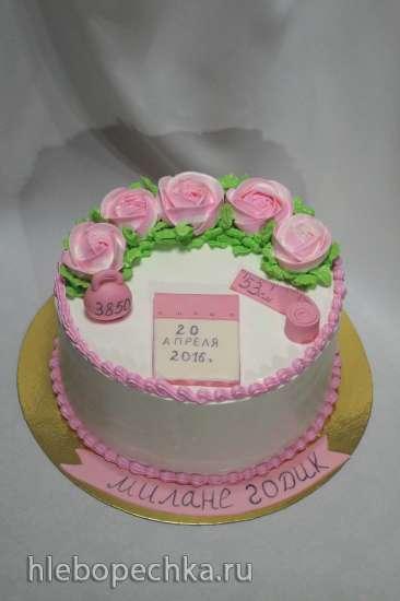 Тортики от Тинки.С первых шагов и дальше