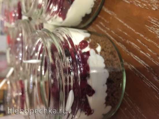 Скандинавский десерт из ржаного (Бородинского) хлеба
