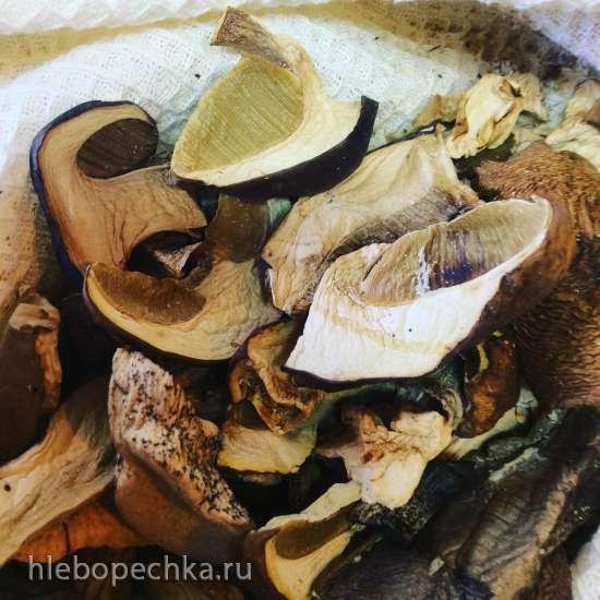 Паштет из утиной печени с фенхелем и грибами