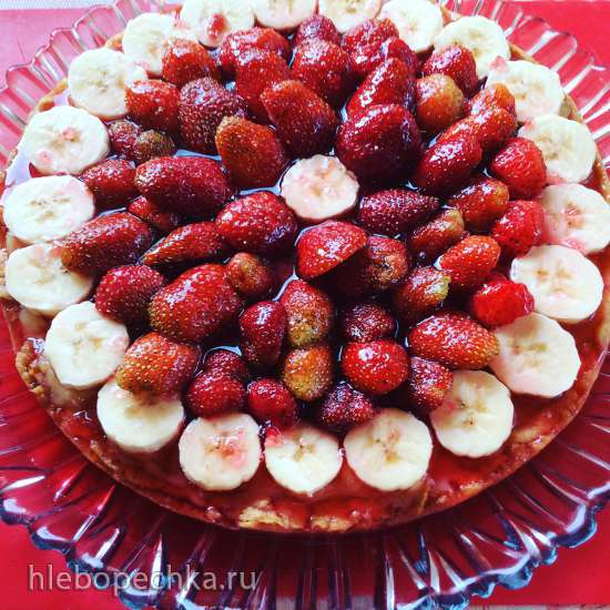 Клубничный тарт (по рецепту Дж. Чайлд)