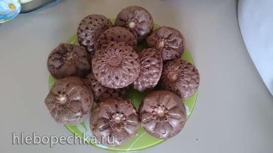 Шоколадный манник с рикоттой и кокосовой стружкой