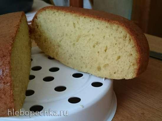 Базовый кекс с разными видами муки: кукурузный, гречневый