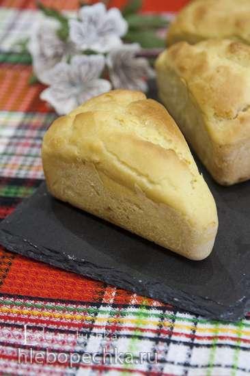 Кукурузный хлеб на молоке