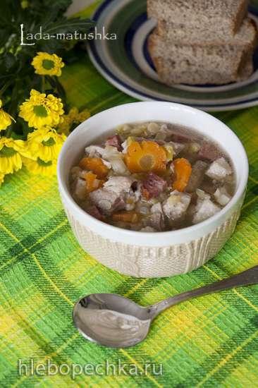 Нидерландский гороховый суп (снерт) - Erwtensoep (snert)  (для Zigmund & Shtain MC-DS42IH)