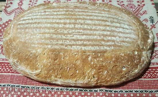 Хлеб пушистый на закваске бездрожжевой