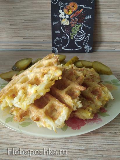 Драники картофельные без муки в вафельнице GFgril GFW-015
