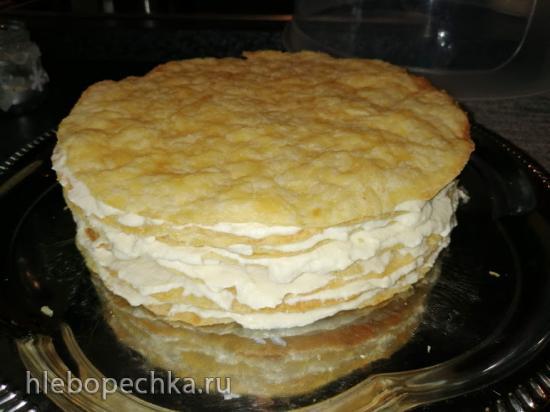 Торт «Наполеон» (по семейному рецепту)