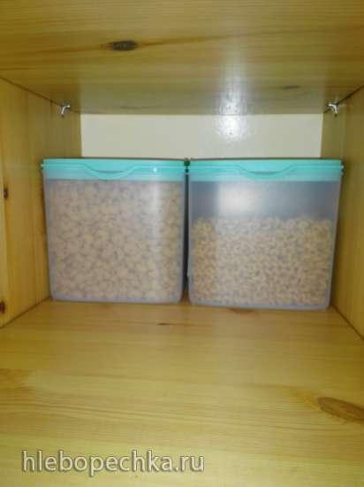 Защитит ли пластиковый контейнер от пищевой моли?