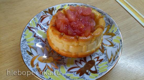 Десертные корзиночки с фруктово-ягодной начинкой