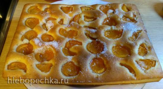 Пирог абрикосовый