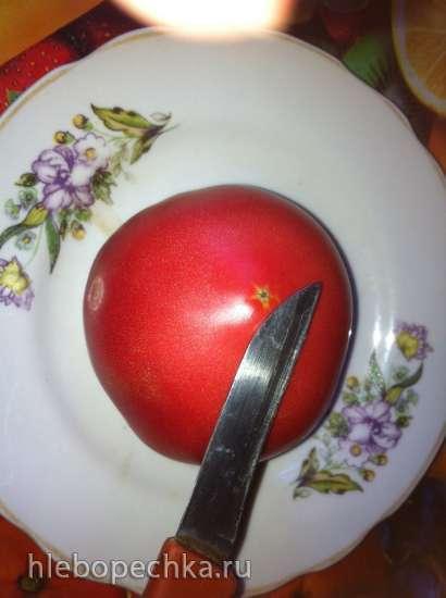 Очищаем помидор от шкурки (легко и быстро)