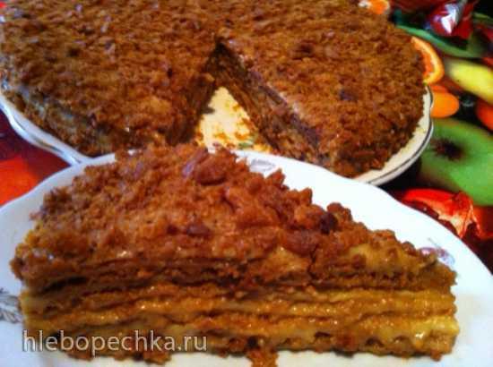 Торт Зима медовый