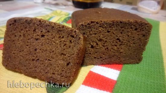 Бородинский хлеб высшего сорта на ржаной закваске