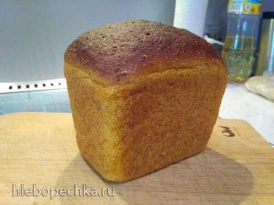 Морковный хлеб в хлебопечке