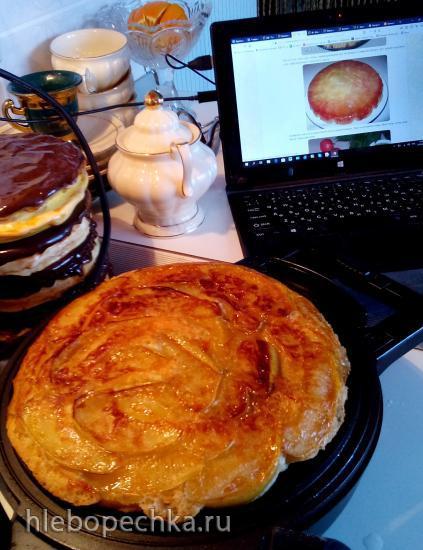 Янтарный торт яблочный от Т. Л. Толстой