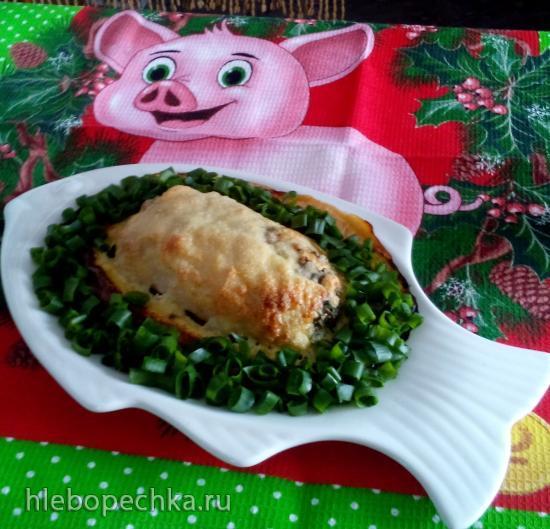 Куриные роллы со шпинатом