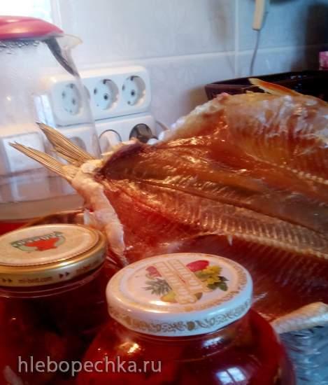 Куриное филе в электросушилке Изидри 500