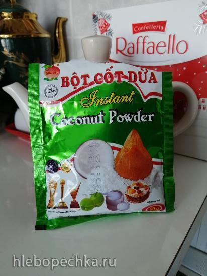 Печенье со вкусом кокоса из овсяной муки