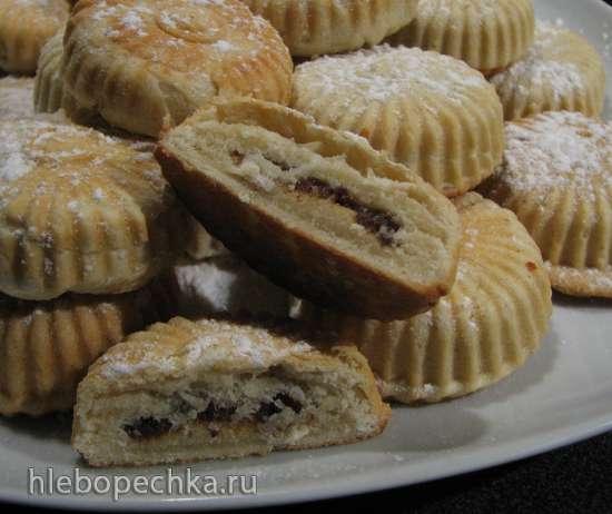 Маамуль - арабское печенье (адаптация для мультипекаря Redmond 7-й серии)