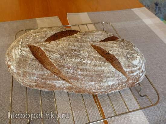 Хлеб по-деревенски / Pain de campagne (духовка)