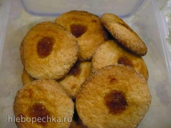 Песочное печенье на сыворотке