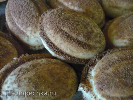 Орешки с кокосовой стружкой и сливочным сыром (мультипекарь Redmond RMB-М612/1)