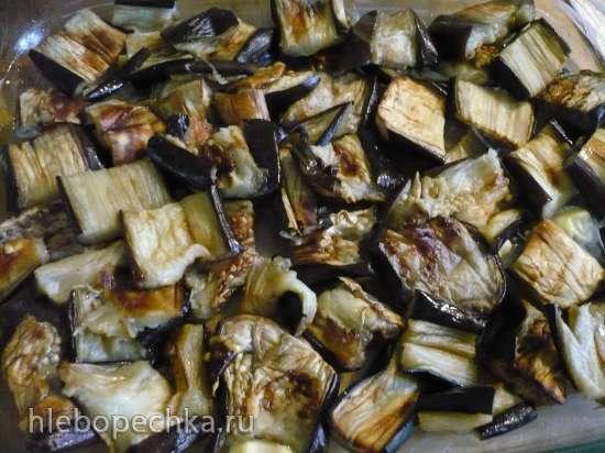 Баклажаны с хлебными крошками (духовка)