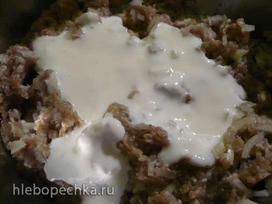 Фитчи - мясной пирог по-туркменски