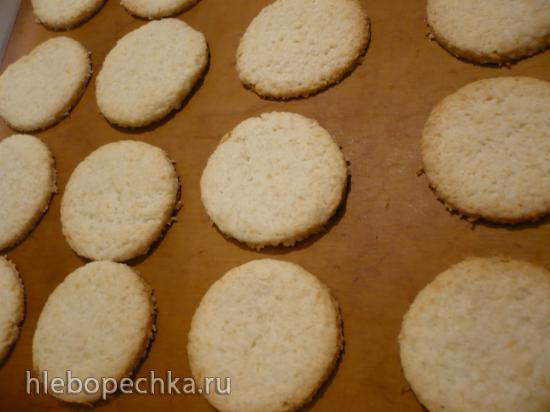 Печенье с кокосовой стружкой (постное)