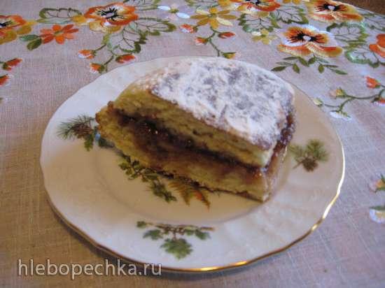 Пирог на кефире Пышка