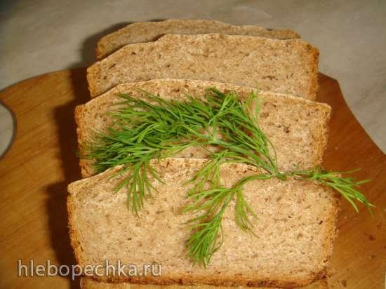 Ржаной хлеб Без ничего (духовка, хлебопечка, мультиварка)