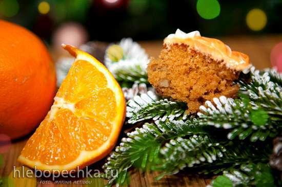 Апельсиновый кекс, постный