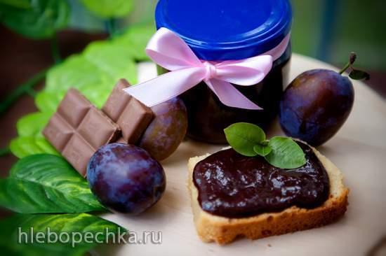 Варенье шоколадно-сливовое