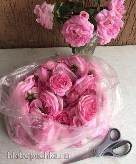 Варенье из чайной розы