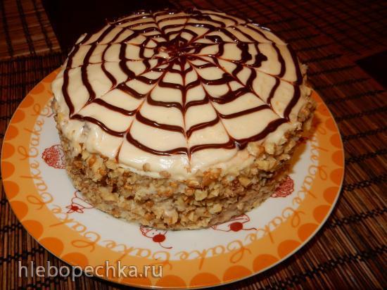 «Творожный пломбир» - торт на сковороде
