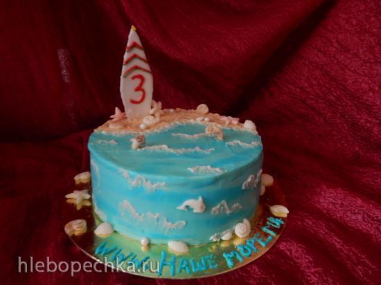 Торт Молочная девочка