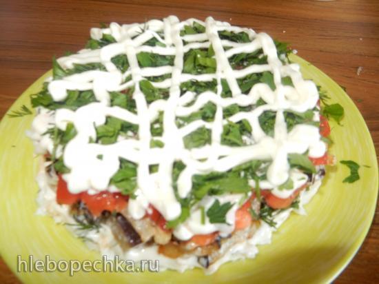 Салат с баклажанами «Безумный»