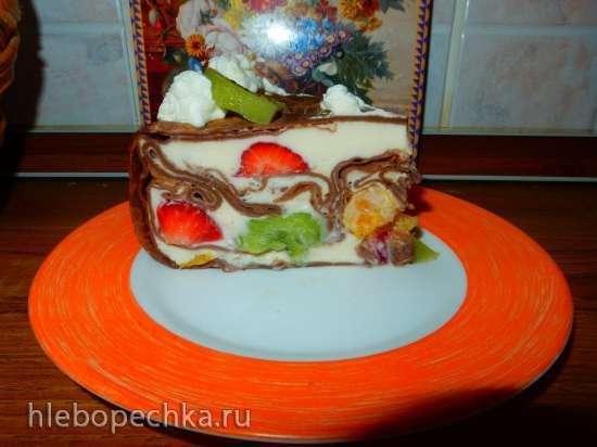 Торт блинный муссовый