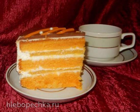 Торт морковный «Сладкая парочка»