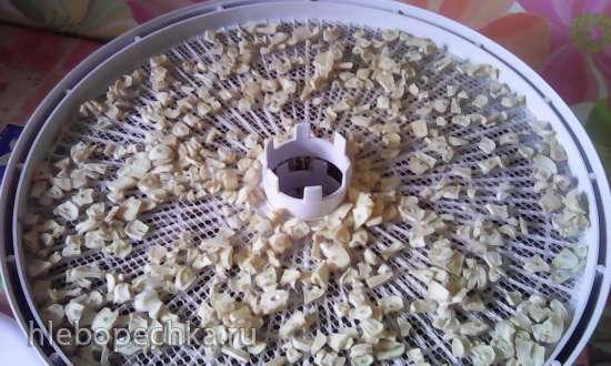 Чесночные чипсы сушеные