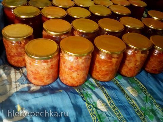 Овощная заготовка Щи
