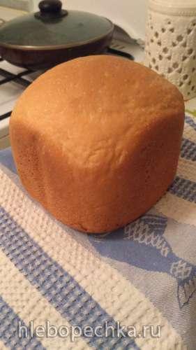 Молочный хлеб на дрожжах (хлебопечка)