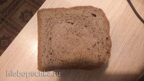 Хлеб Селянский на закваске в хлебопечке