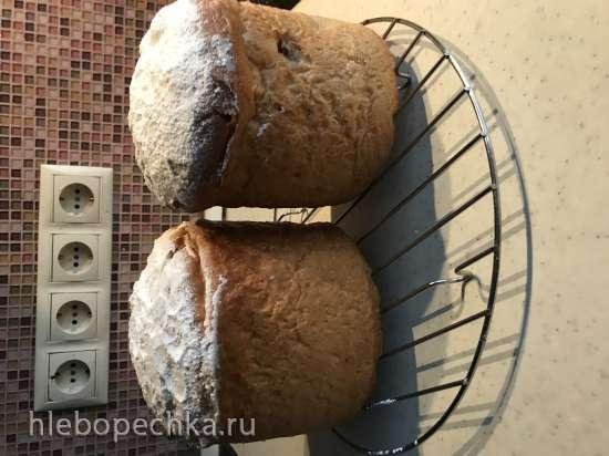 Куличи заварные от Светты (адаптация рецепта для кухонной машины с нагревом)